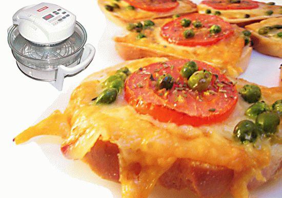 горячие бутерброды в аэрогриле рецепты