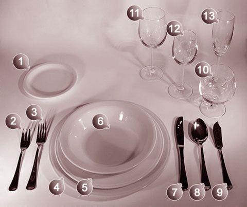 20 правил сервировки праздничного стола