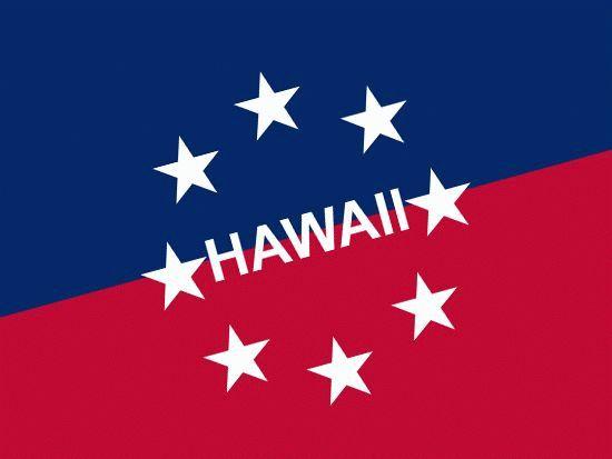 Праздник 31 июля - День гавайского флага