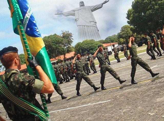 Праздник 25 августа - День солдата в Бразилии