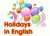 Праздники на английском языке с переводом