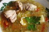 Суп с курятиной