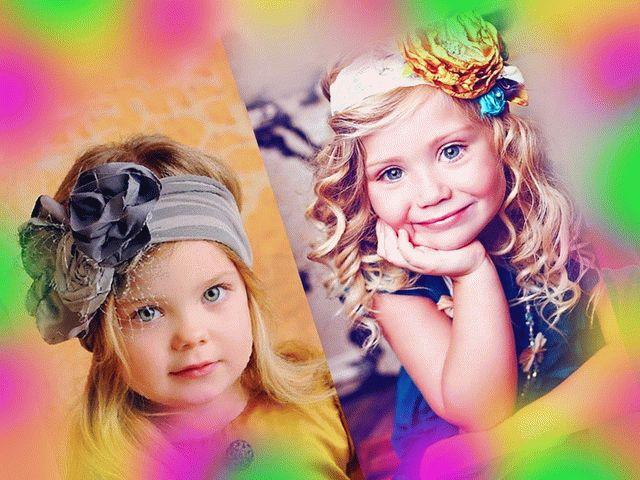 Детские прически со средними волосами