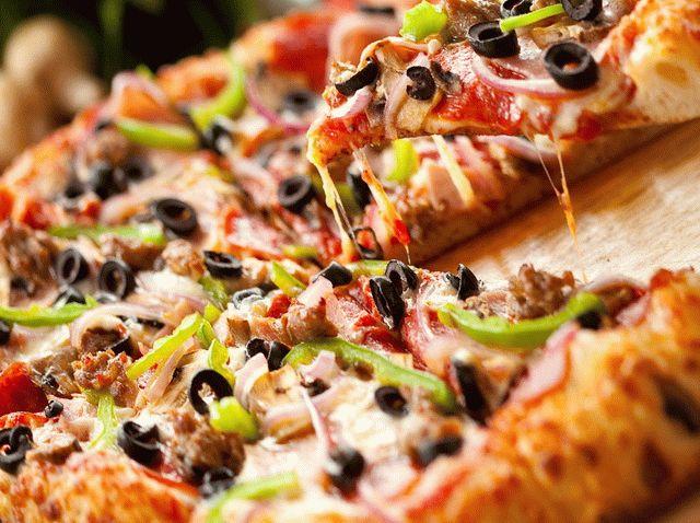 Пицца на английском языке