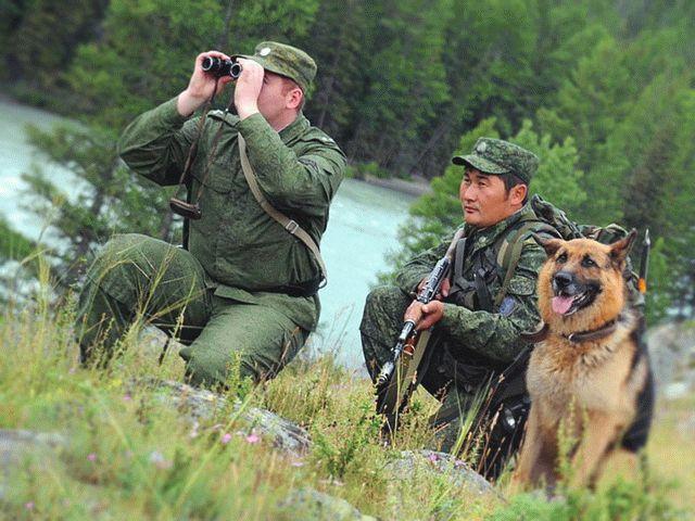 Праздник 18 августа - День пограничника в Казахстане
