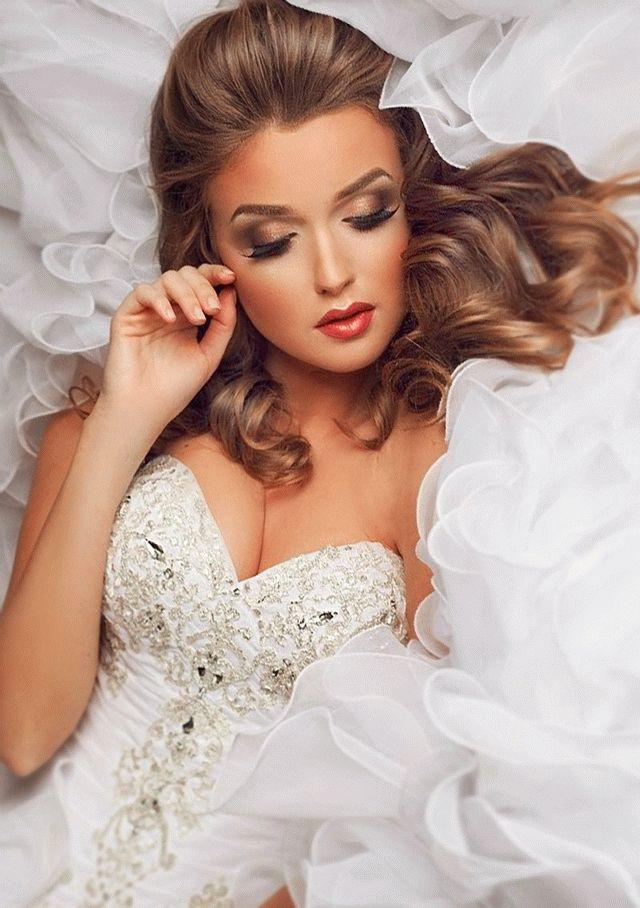Шикарный макияж на свадьбу