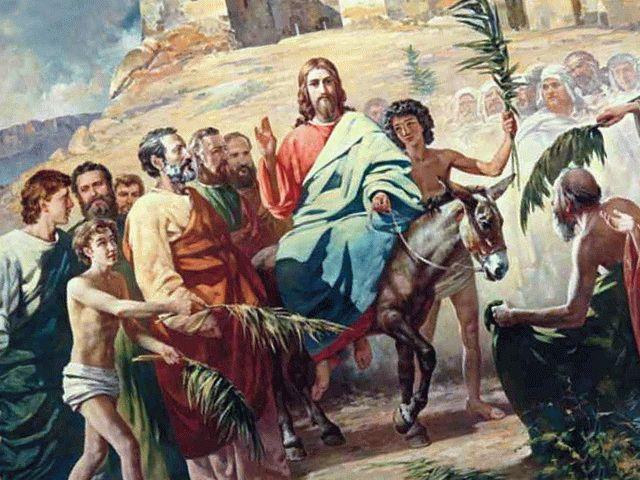 Вербы на Руси созвучны пальмам Иерусалима
