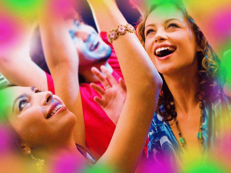 Веселые конкурсы ко дню рождения «Оденьте друг друга», «Шарики» и «Коняшки»